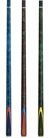 "Pool Cue 2 Piece Graphite GrafeX Art 57"" FSA"