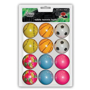 Table Tennis Balls Novelty