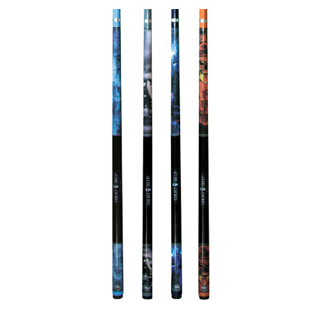 "Pool Cue 2 Piece Graphite Composite Ghost Ship 57"" FSA"