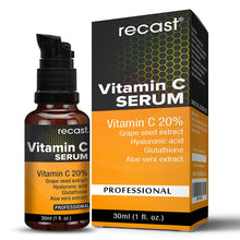 Recast Vitamin C Serum With Hyaluronic Acid And Glutathione
