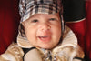 baby with a healing cleft palate