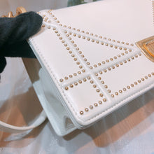 Load image into Gallery viewer, Dior Diorama Bag Calfskin White GHW Small (Used)