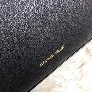 Alexander Mcqueen Box Bag 19cm Black (New)