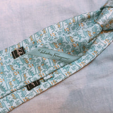 Load image into Gallery viewer, Salvatore Ferragamo Elephant Tie Blue (Used)