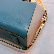 Load image into Gallery viewer, Givenchy Antigona Bag Small Blue X Black (Used)