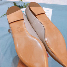 Load image into Gallery viewer, Valentino Ballerina Strap Flats Nude size39.5 (New)