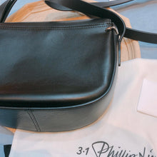 Load image into Gallery viewer, Phillip Lim Saddle Crossbody Bag Black (Used)