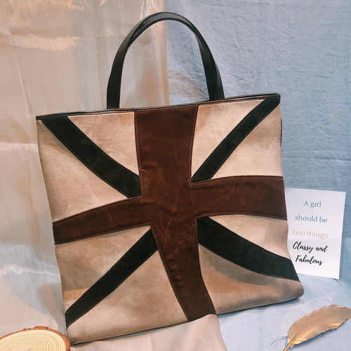 Burberry Suede Tote Brown (Used)
