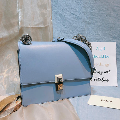 Fendi Kan I Small Blue (Used)