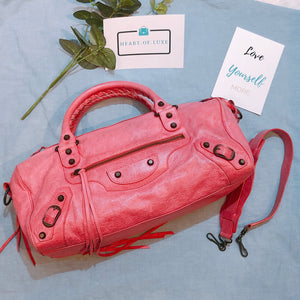 Balenciaga Twiggy Shoulder Bag Pink (Used)
