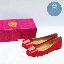 Load image into Gallery viewer, Tory Burch Flats Red (New)
