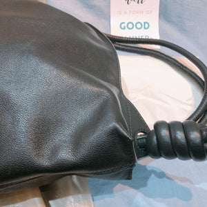 Loewe Drawstring Backpack Calfskin Black (Used)