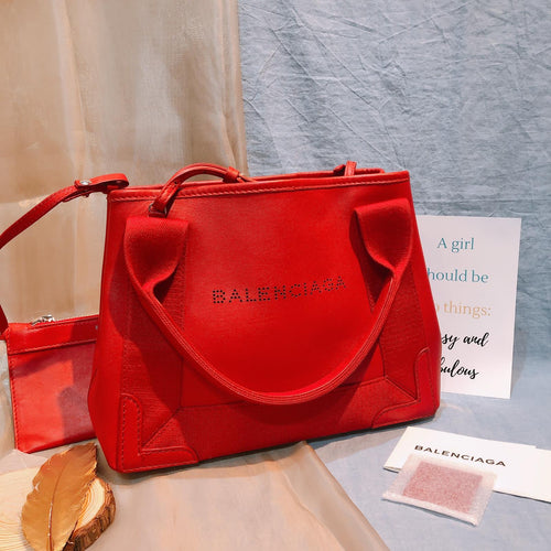 Balenciaga Cabas XS Red Leather (Used)