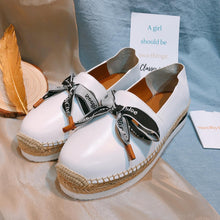 Load image into Gallery viewer, See By Chloe Sneakers Espridrilles Calfskin White Size36 (New)