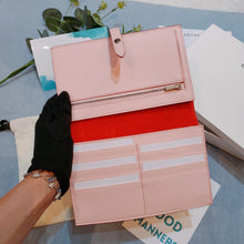 Load image into Gallery viewer, Celine Strap Wallet Red X Pink (New)