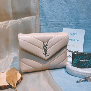 YSL Loulou Toy Bag Nude (New)