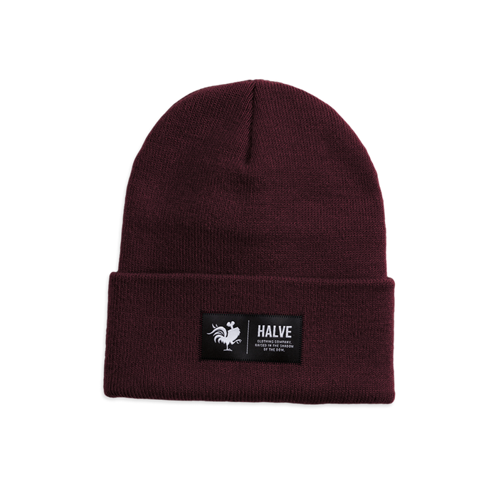 Halve Köln Beanie Mütze / Halve Clothing Company / Streetwear Apparel of Cologne / Raised in the shadow of the dom