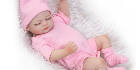 10inches reborn baby doll for 1-12 month toddlers