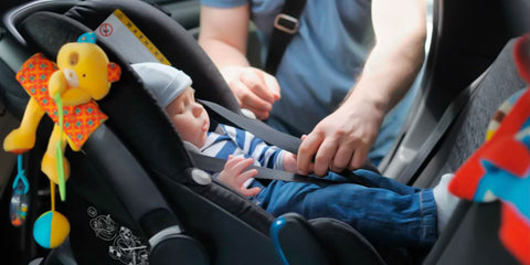 Always use a car seat for your baby doll