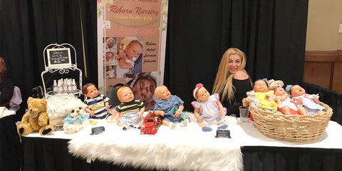 Rose international doll show Expo