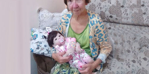 positive side of lifelike baby dolls