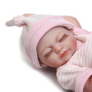 10 Inch Mini Full Body Silicone Reborn Baby Doll-Banydoll
