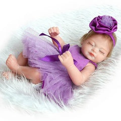 10 Inch Mini Full Silicon Reborn Doll Vida