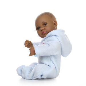10 Inch Mini Lifelike Reborn Baby Doll with Pajama-Banydoll