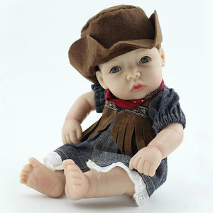 10 inch Mini Twin Dolls-Banydoll