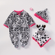 Lovely Panda Styles Clothes Fits for 18-22 Inches Lifelike Baby Dolls