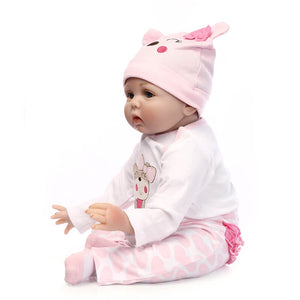 So Lovely Realistic Baby Doll-Banydoll