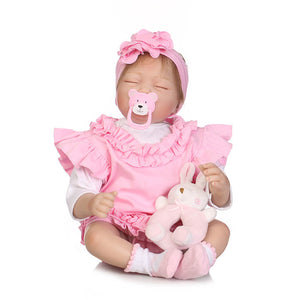 New Reborn Sleeping Doll With Headband-Banydoll