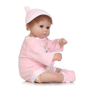 So Sweet Girl Pink Una Lifelike Baby-Banydoll