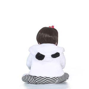 White Silicone Full Body Baby-Banydoll