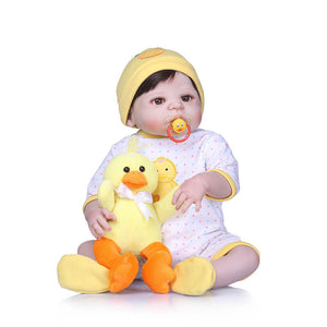 Girl with Little Yellow Duck-Banydoll