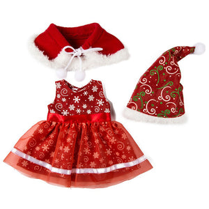 Christmas DIY Suits For 10-16 Inch Reborn Dolls-Banydoll