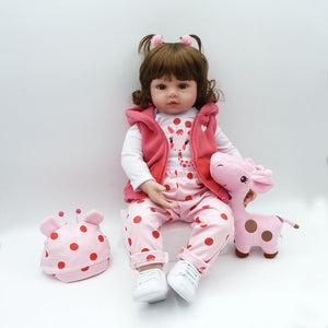 So Lovely And Liflike Reborn Baby Doll Giraffe-Banydoll