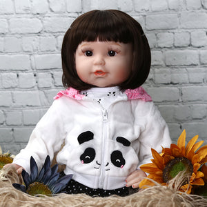 21 Inches Panda Girl Lifelike Baby Doll