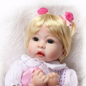 20 inch Truly Real Reborn Baby Doll Allie head