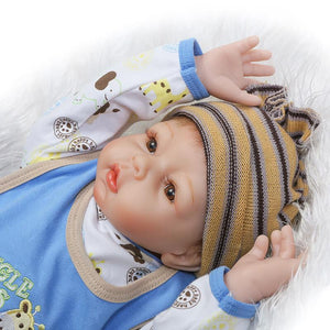 22 Inch Realistic Baby Doll with Pal-Banydoll