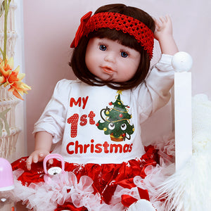 Christmas Gift 21 Inches Lifelike Baby Girl Doll Mick