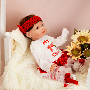 Christmas Gift 20 Inches Lifelike Baby Boy Doll Mike