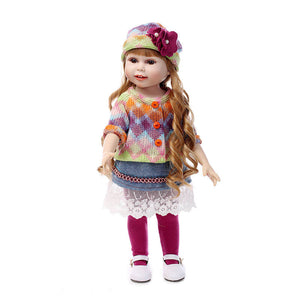 Fashion Long Hair Silicone Girl Doll-Banydoll
