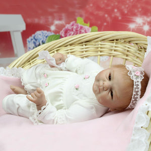 "16"" Lifelike Realistic Preemie Baby Doll Lily Rose"