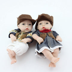 10 inch Mini Twins Realistic Baby Dolls