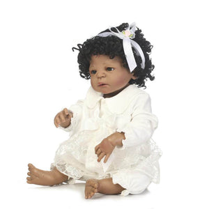 Tiny Reborn Baby Girl Reese with Silicone Baby Bottle-Banydoll