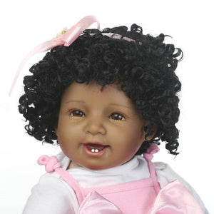 Beautiful Reborn Baby Hanna with Curly Hair-Banydoll