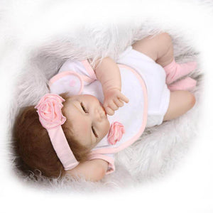 Cuddly Lifelike Reborn Doll Rosa with Baby Blanket-Banydoll