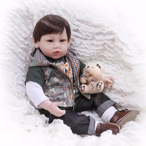 Cute Boy Doll with His Pal-Banydoll