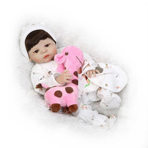Cute Girl Doll In the Baby Basket-Banydoll